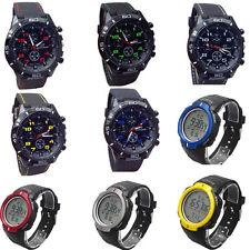 2016 Luxury Silicone Quartz Military Watches Wrist watch Sport Men's Watch Hours