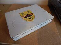 Vintage first Aid Tin .Wallace Cameron & Co Ltd Glasgow .27cm x20cm x5cm