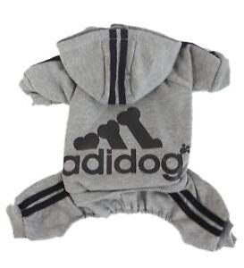 4-Leg Jumpsuit Casual Sweatshirt Winter Adidog Pet Small Dog Warm Hoodie Costume