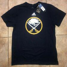 Mens Adidas NHL Buffalo Sabres The Go-To Tee Shirt Navy Blue Sz M NWT $24