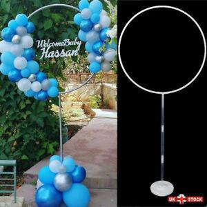 1/2x Balloon Column Arch Set Base Stand Display Kit Wedding Party Decor Supplies