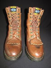 Ariat Cobalt Brown Leather Kiltie Equestrian Packer Boot Men's US 9D