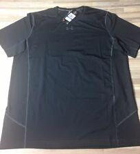 $40 Under Armour ArmourVent Men's Size Xl Athletic Shirt Black 1300928-001 Nwt