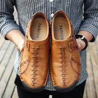 Men's Casual Shoes Driving Moccasins Loafers Shoes Breathable Big Size 39-48