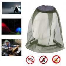 Outdoor UV Protection Face Head Mesh Net Hat Resistant Bee Mosquito Bug Sun Cap