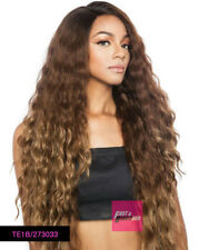 BS296 - MANE CONCEPT ISIS BROWN SUGAR HUMAN HAIR BLEND LACE FRONT WIG SUPER LONG