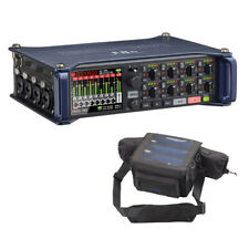 Zoom F8n Multi-Track Field Recorder w/ Protective Case For F8n Recorders Bundle