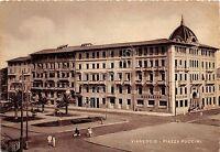 Cartolina - Postcard - Viareggio - Piazza Puccini - anni '50 - NVG