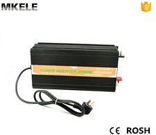 2000W DC12V to AC220V Pure Sine Wave Power Inverter Rechargable DC10A