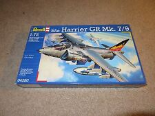Revell Bae Harrier Gr Mk. 7/9 Jet Fighter 1:72 Scale Model Kit Misb Sealed 2012