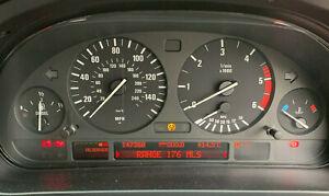E39 Speedometer Instrument Cluster BMW 5 Series Diesel - Pixel Ribbon Replaced