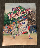 1988 WORLD SERIES FALL CLASSIC OFFICIAL PROGRAM Dodgers-Red Sox-Athletics-Mets