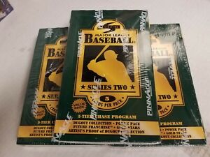 1996 Score S2 MLB Baseball Factory Sealed 3 Value Box Lot 36 packs each, AP?