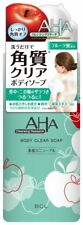 Cleansing Research Body Clear Soap (exfoliation) 400 mL with AHA Japan Import