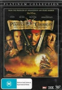 Pirates Of The Caribbean ~ The Curse Of The Black Pearl (Region 4 DVD)