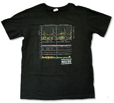 Muse Flux Image Black T Shirt New Official Band Music