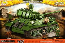 COBI T-34/85 Rudy LIMITED (2524) - 530 elem. - WWII Soviet/Polish medium tank