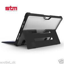 STM Dux Rugged Protective Case/Cover for Microsoft Surface Pro 4 - Clear Black