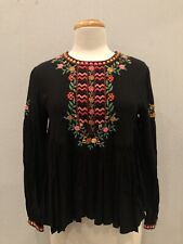 Pretty! Joie Ghita Embroidered Top Size Small NWT