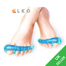 2pcs Toe Separators Stretchers Straighteners Alignment Bunion GEL Pain Relief