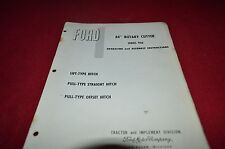 Ford Tractor 806 Rotary Cutter Operator's Manual YABE11
