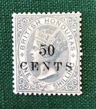 BRITISH HONDURAS  25  Very  Nice  Mint  No  Gum  VICTORIA  OD h908