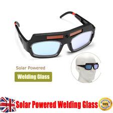 Solar Operated Auto Darkening Welding Mask Helmet Eyes Goggle Welder Glasses Arc