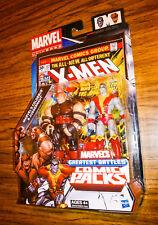 Marvel Universe COLOSSUS vs. JUGGERNAUT! Greatest Battles Comic Packs! Hasbro