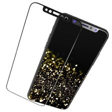 3D Full Cover Metal Edge Tempered Glass Screen Protector For iPhone 11 Black