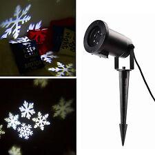 LED Laser Licht Projektor Außen Beleuchtung Xmas Weihnachten Deko Gartenlicht