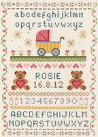 Anchor Cross Stitch Kit - Birth Classic -  Birth Record - ACS31