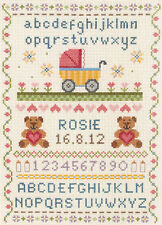 Anchor Cross Stitch Kit - Birth Classic -  Birth Record - ACS31