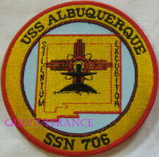 PUS280 - US NAVY USS ALBUQUERQUE SSN 706 PATCH SOUS-MARIN NUCLEAIRE