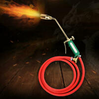Portable Ignition Blow Torch Flame Gun Liquefied Gas Butane Burner Weld ZPH