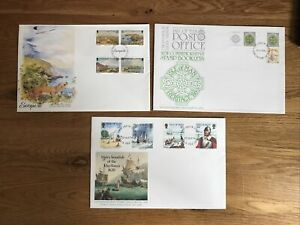 ISLE of MAN  FDC X 3 In Good Condition