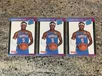 2019-20 Panini Instant Rated Rookie #43 Luguentz Lu Dort /3431 [Lot of 3]