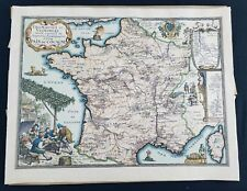 Map Fromaiges Et Vignobles-Pais De Cocagne-Vintage Paris Map