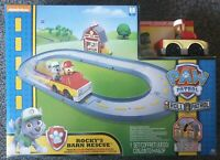 NICKELODEON Paw Patrol Roll Patrol Rocky's Barn Rescue Track Set Build Adventure