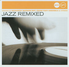 Compilation ‎CD Jazz Remixed - Europe (M/M)