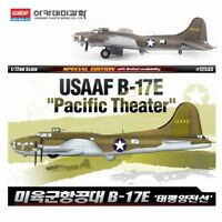 Academy #12533 USAAF B-17E Pacific Theater Aircraft 1/72 Plastic Model Hobby