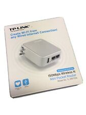 TP-Link Wireless N Mini Pocket Router/Repeater/Adapter TL-WR710N