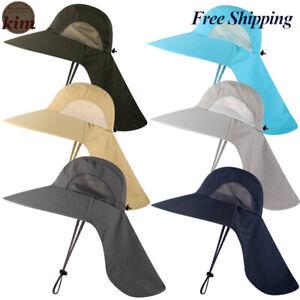 Sombrero Para EL SOL Para Hombre y Mujer, PROTECCION Solar ALA ANCHA Adjustable