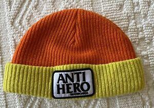 anti hero skateboards  beanie