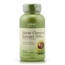 GNC Herbal Plus Horse Chestnut Extract 300MG 100 Capsules