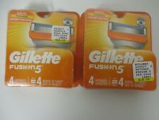 8 GILLETTE FUSION 5 REFILL CARTRIDGES - ALSO FITS POWER - NEW/SEALED - EL 388R