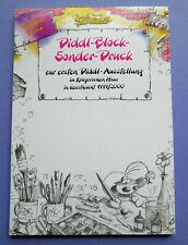 Diddl Block DIN A5  ##  SONDERBLOCK GEESTHACHT  ##  mit 44 Blättern