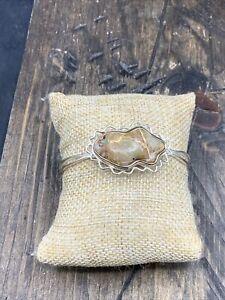 Barse Alamosa Cuff Bracelet- Boulder Turquoise & Silver Overlay- NWT
