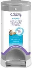New listing Litter Champ Premium Odor-Free Cat Litter Disposal System, Gray