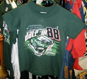 VINTAGE CHASE #88 KIDS YOUTH TEE SHIRT AMP DALE EARNHARDT JR X SMALL 2/4 NWT