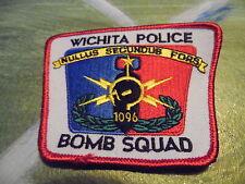 Wichita Police Bomb Squad patch